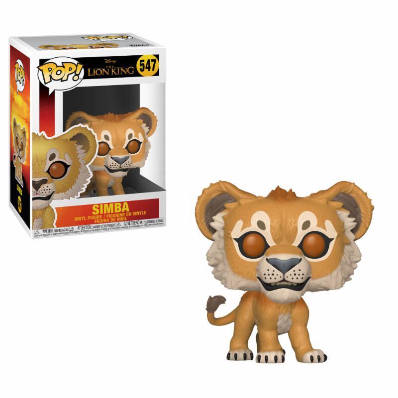 The Lion King (2019) POP! Disney Vinyl Figure Simba 10 cm