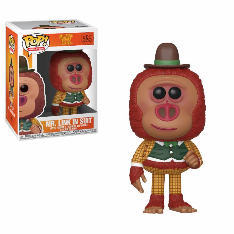 Missing Link POP! Movies Vinyl Figure Link with Clothes 10 cm