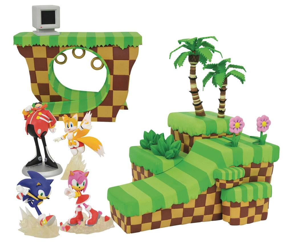 Sonic the Hedgehog Playset Dioramas Pack