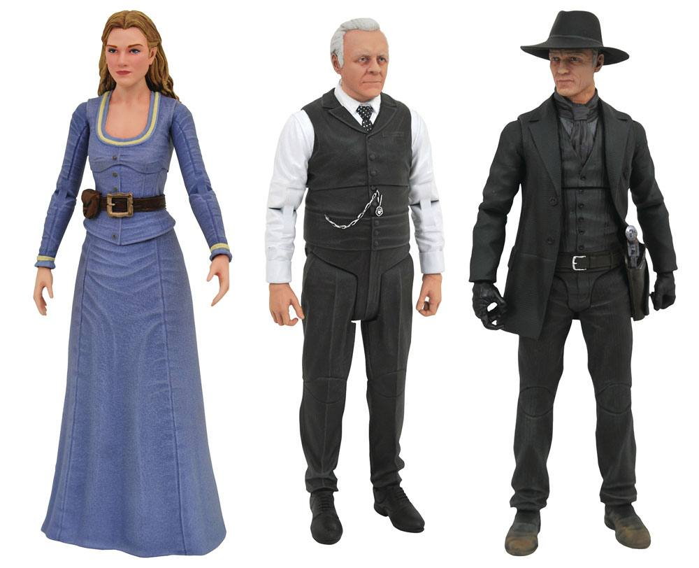 Westworld Select Action Figures 18 cm Series 1 Pack