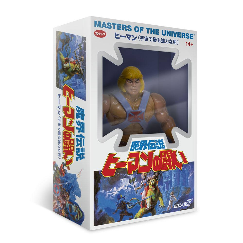 Masters of the Universe Vintage Collection AF Wave 4 He-Man Japanese Box