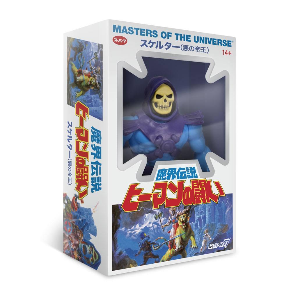 Masters of the Universe Vintage Collection AF Wave 4 Skeletor Japanese Box