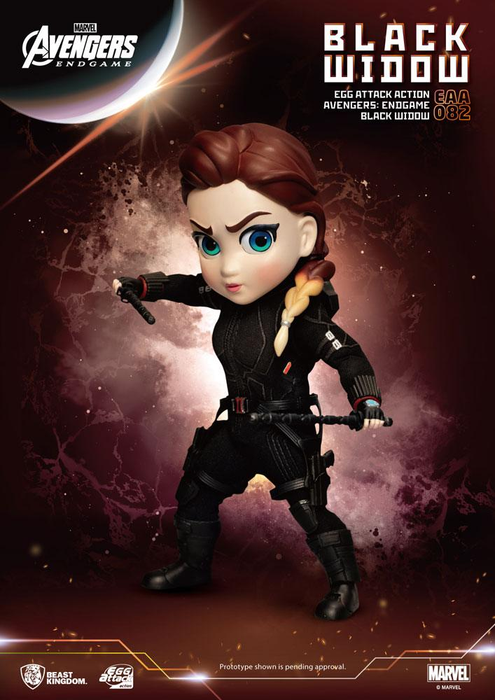 Avengers: Endgame Egg Attack Action Figure Black Widow 17 cm