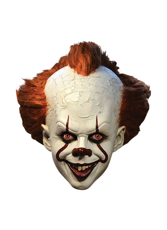 Stephen King's It 2017 Latex Mask Pennywise Deluxe Edition