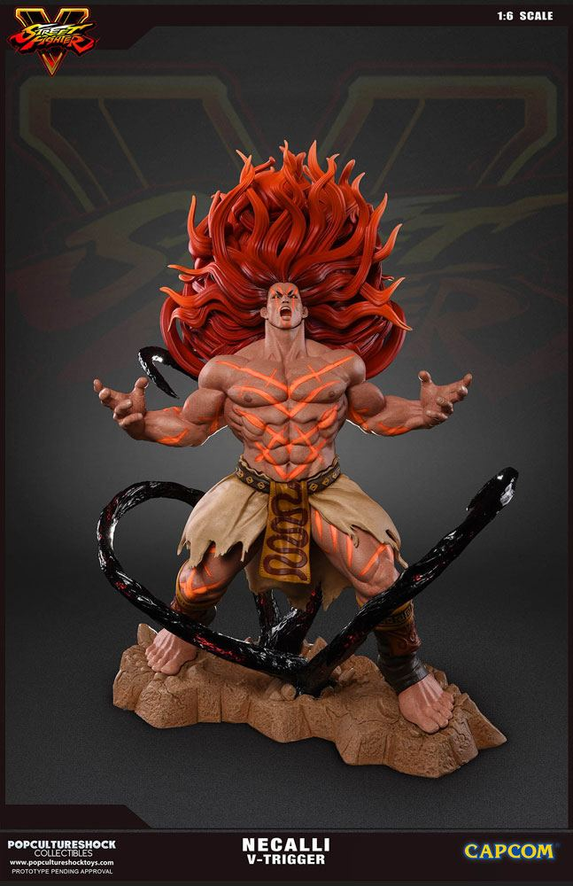 Street Fighter V Statue 1/6 Necalli Limited Edition 38 cm