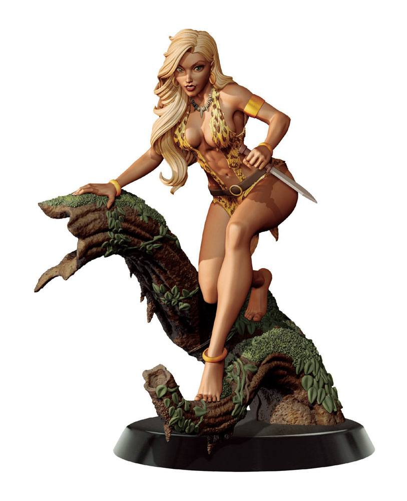 Women of Dynamite Statue 1/6 Sheena Queen of the Jungle by J Scott Campbell