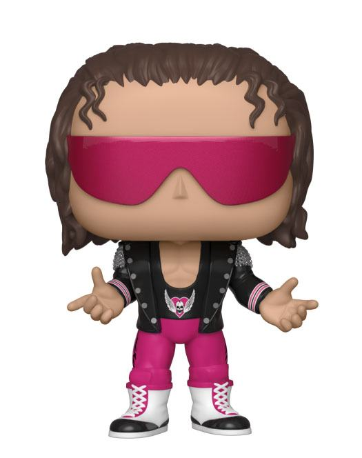 WWE POP! Vinyl Figure Bret Hart with Jacket 10 cm