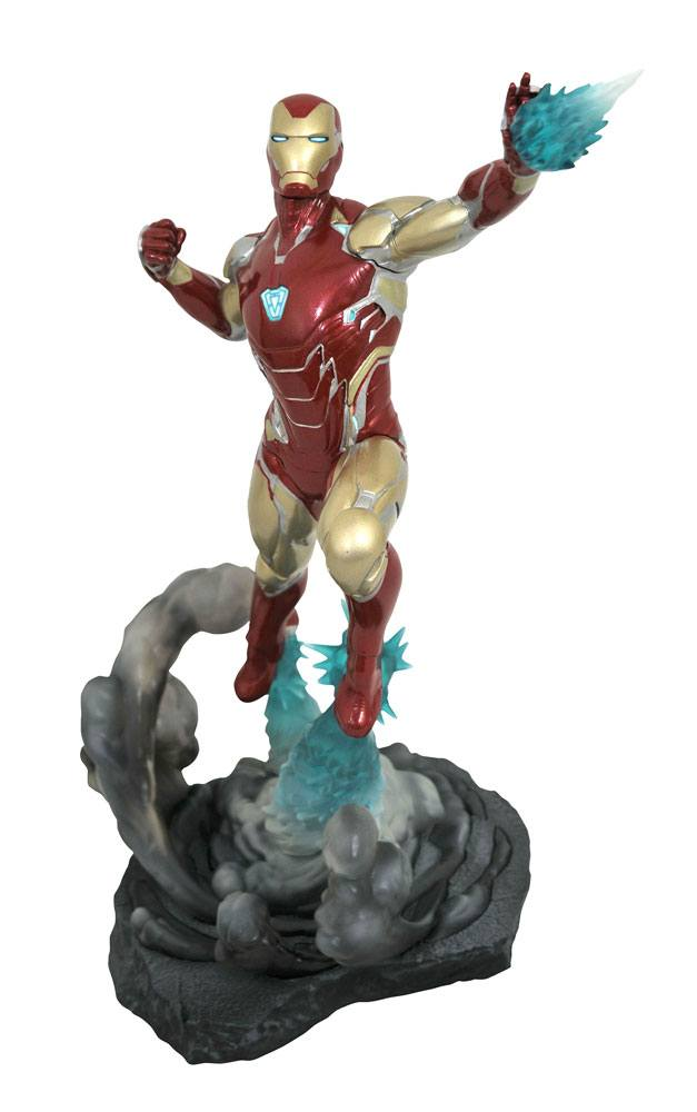 Avengers: Endgame Marvel Movie Gallery PVC Diorama Iron Man MK85 23 cm
