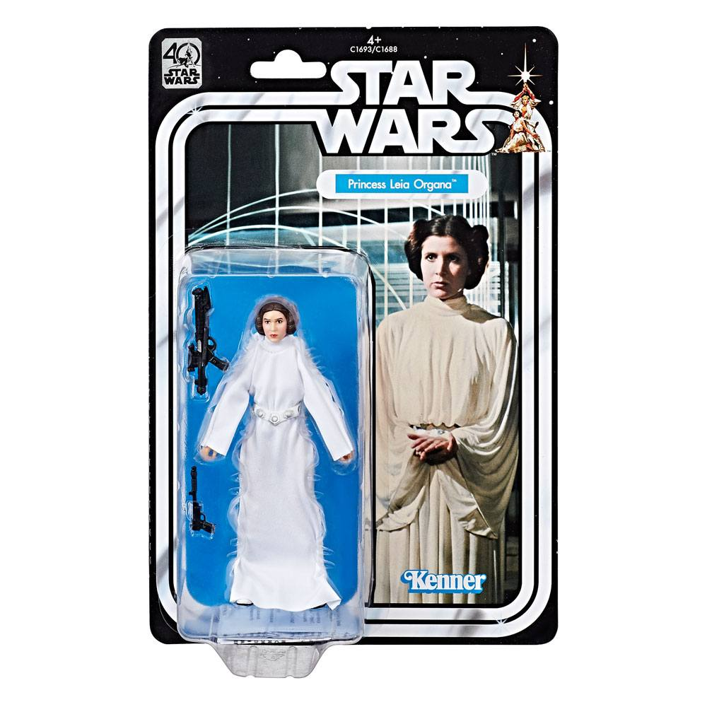 Star Wars Black Series Action Figure Leia Organa 40th Anniversary 15 cm