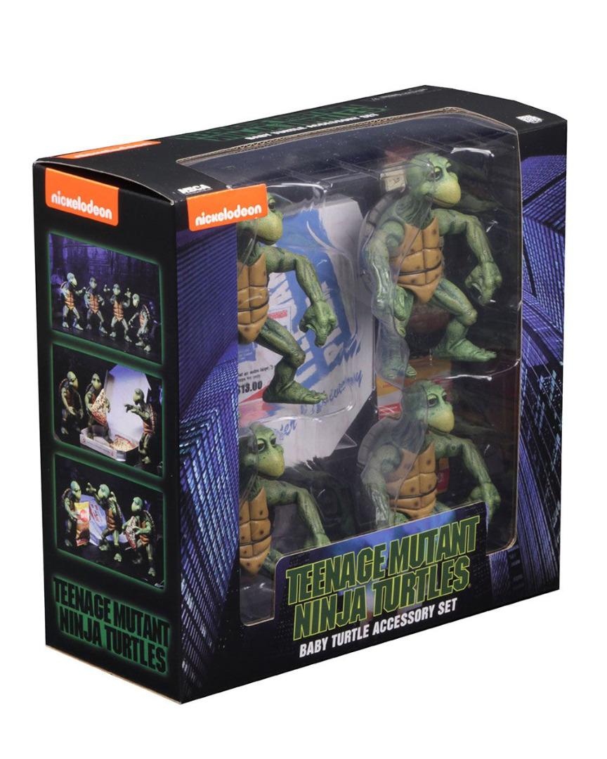Teenage Mutant Ninja Turtles Action Figure 4-Pack 1/4 Baby Turtles 10 cm