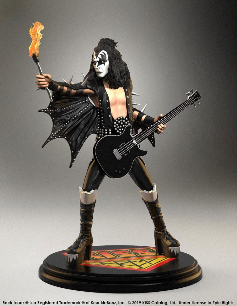 Kiss Rock Iconz Statue 1/9 The Demon (ALIVE!) 20 cm