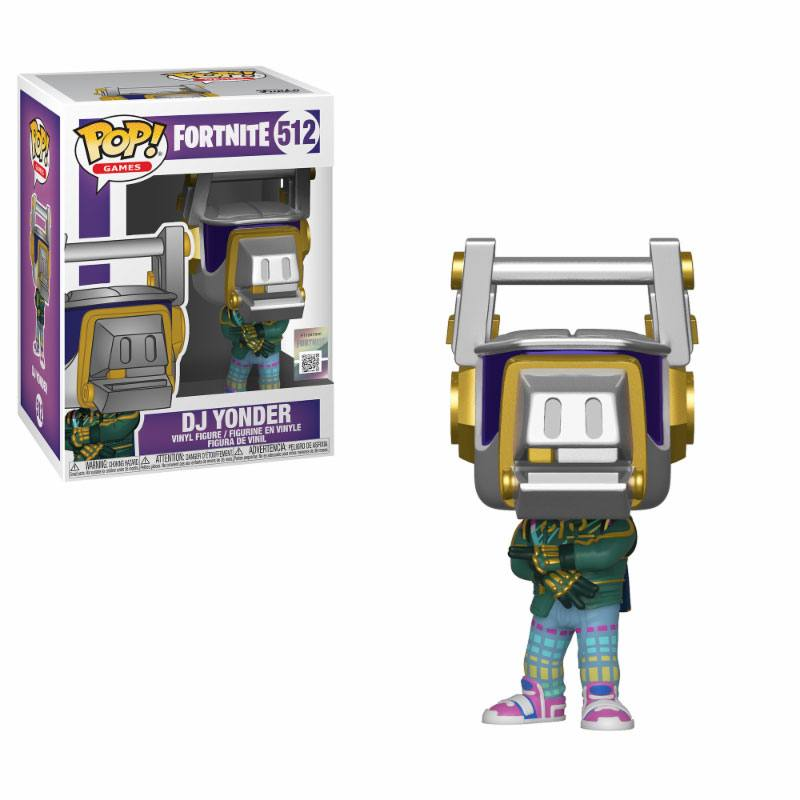 Fortnite POP! Games Vinyl Figure DJ Yonder 10 cm