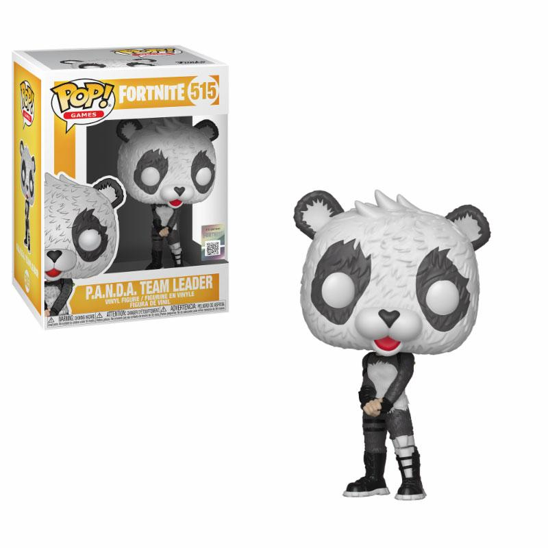 Fortnite POP! Games Vinyl Figure P.A.N.D.A Team Leader 10 cm