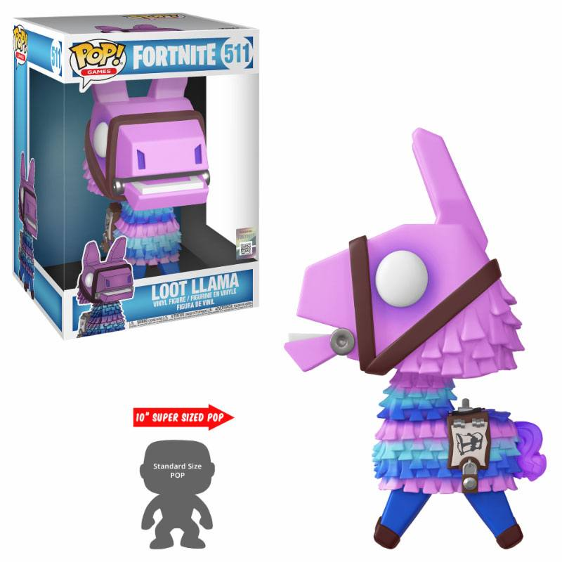 Fortnite Super Sized POP! Games Vinyl Figure Loot Llama 25 cm