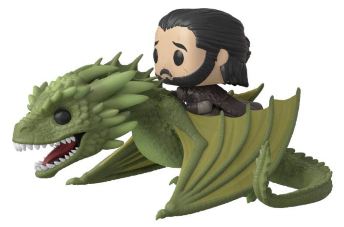 Game of Thrones POP! Rides Vinyl Figure Jon Snow & Rhaegal 18 cm