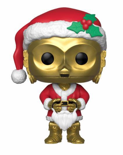 Star Wars POP! Vinyl Bobble-Head Holiday Santa C-3PO 10 cm