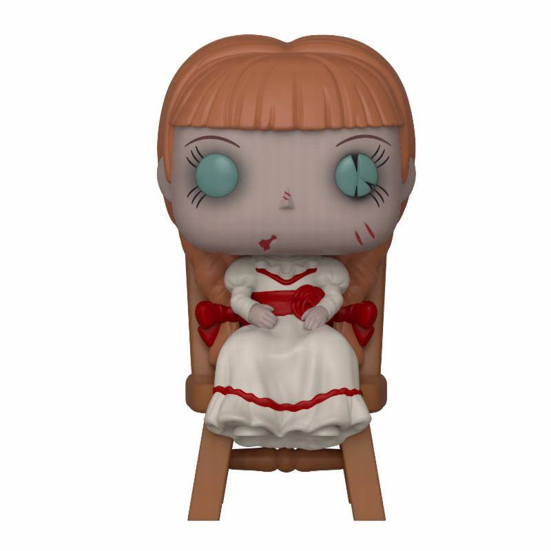 The Conjuring POP! Movies Vinyl Figure Annabelle in Chair 10 cm