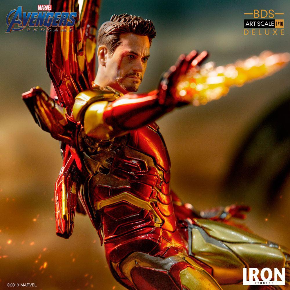 Avengers Endgame BDS Art Scale Statue 1/10 Iron Man Mark LXXXV Deluxe Vers.