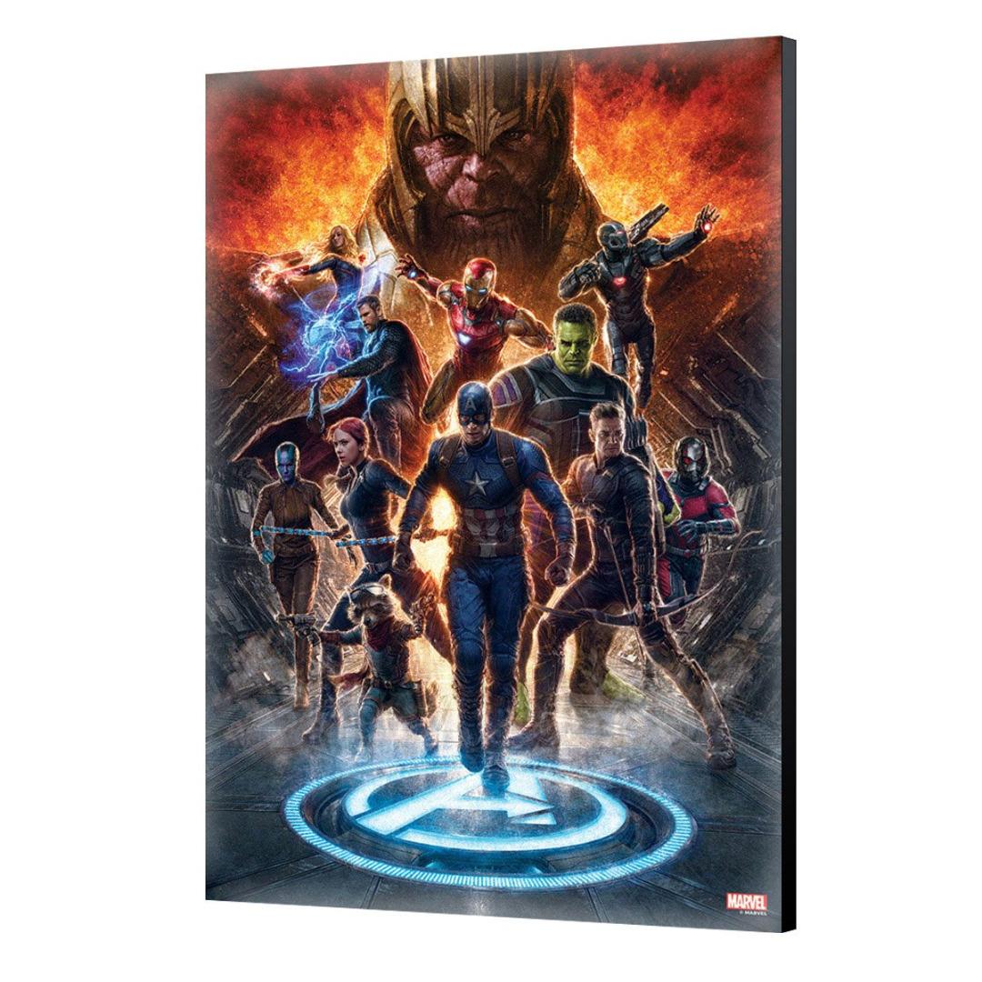 Avengers: Endgame Wooden Wall Art #01 40 x 60 cm