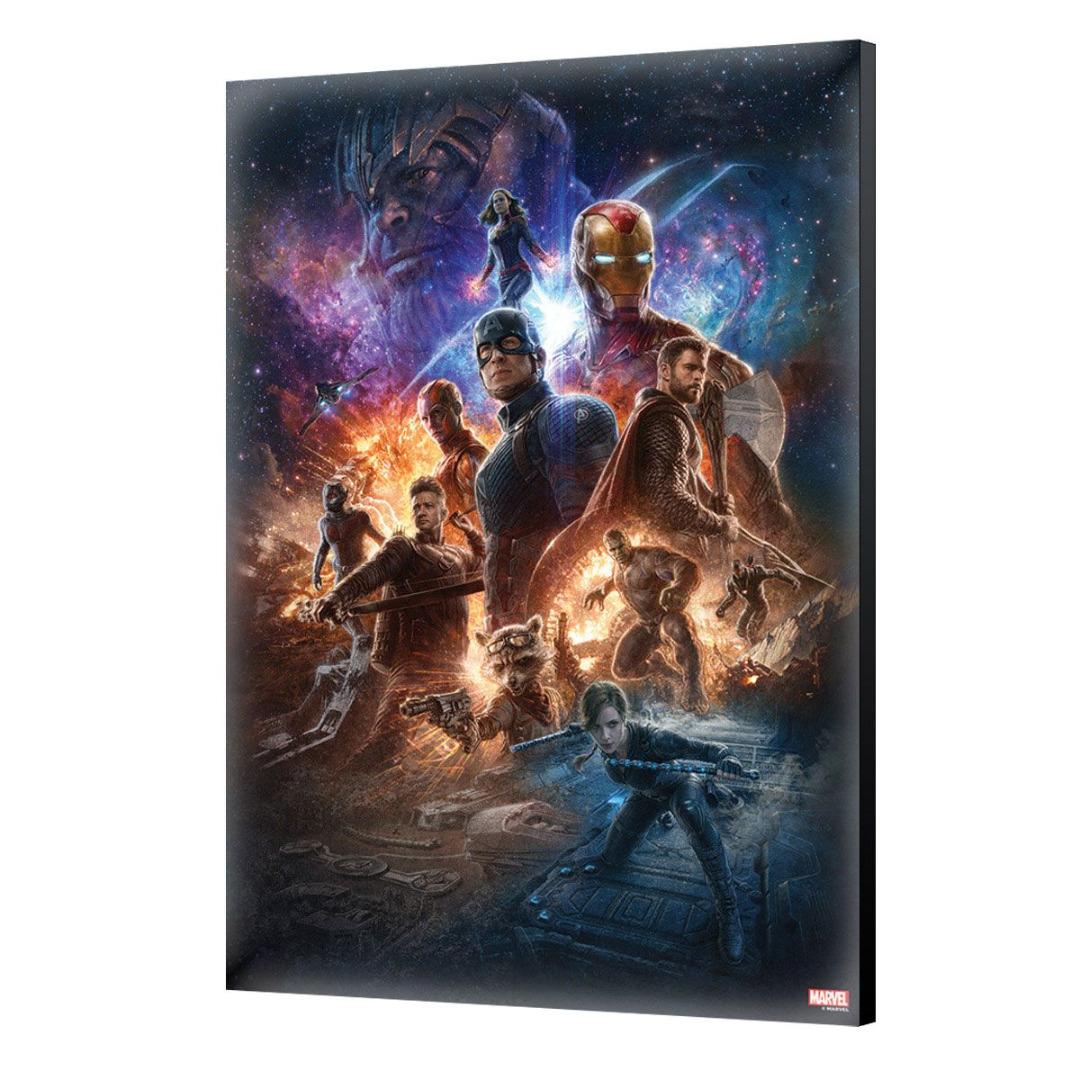 Avengers: Endgame Wooden Wall Art #02 40 x 60 cm