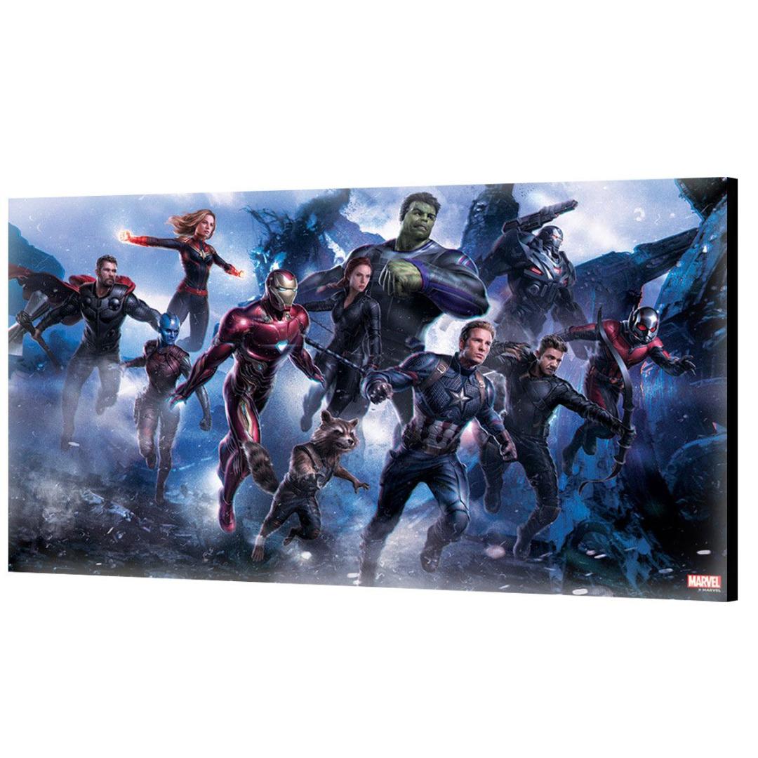Avengers: Endgame Wooden Wall Art #06 50 x 27,5 cm