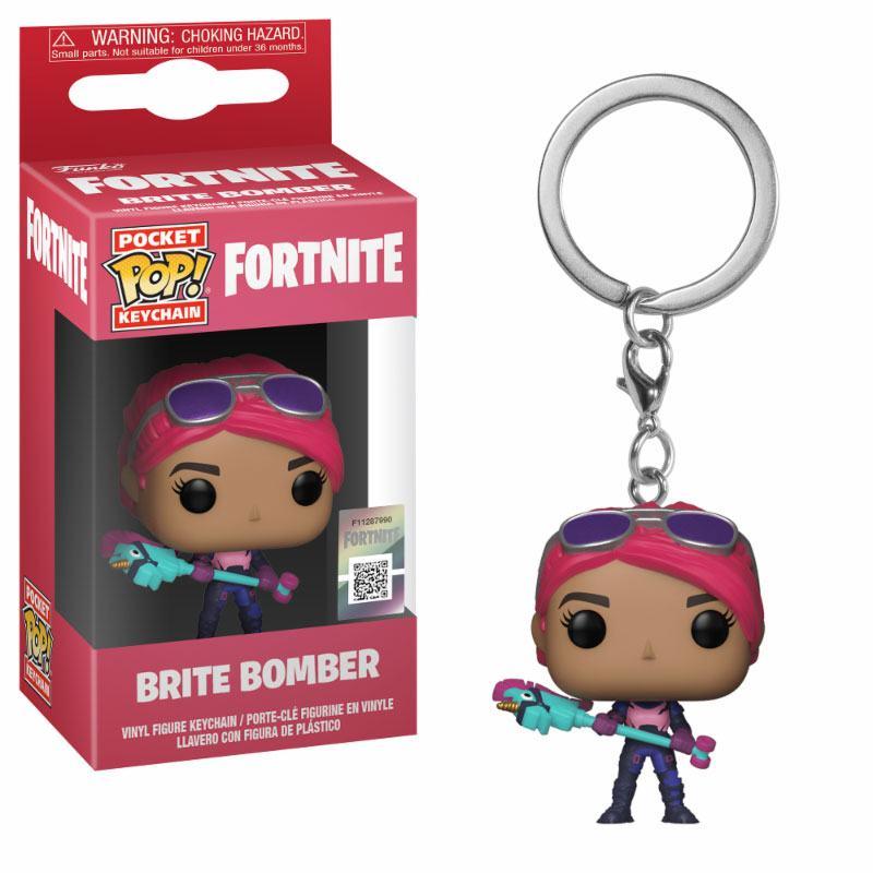 Fortnite Pocket POP! Vinyl Keychain Brite Bomber 4 cm