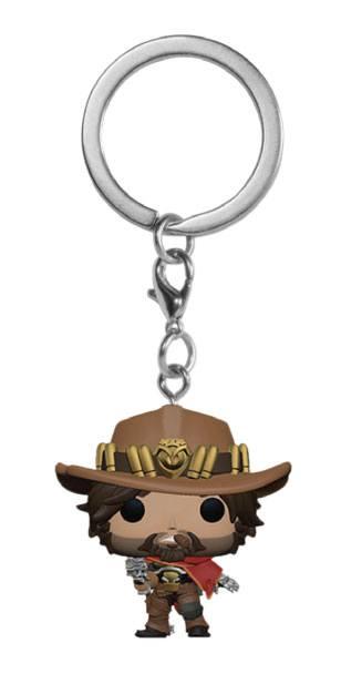 Overwatch Pocket POP! Vinyl Keychain McCree 4 cm