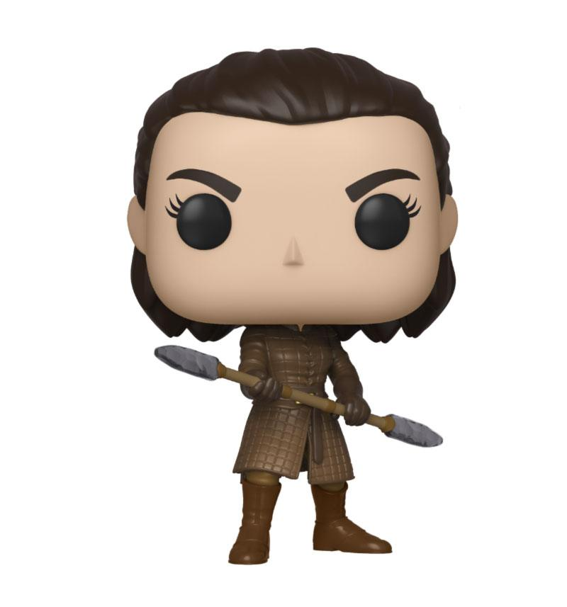 Game of Thrones POP! Television Vinyl Figure Arya w/Two Headed Spear 10 cm