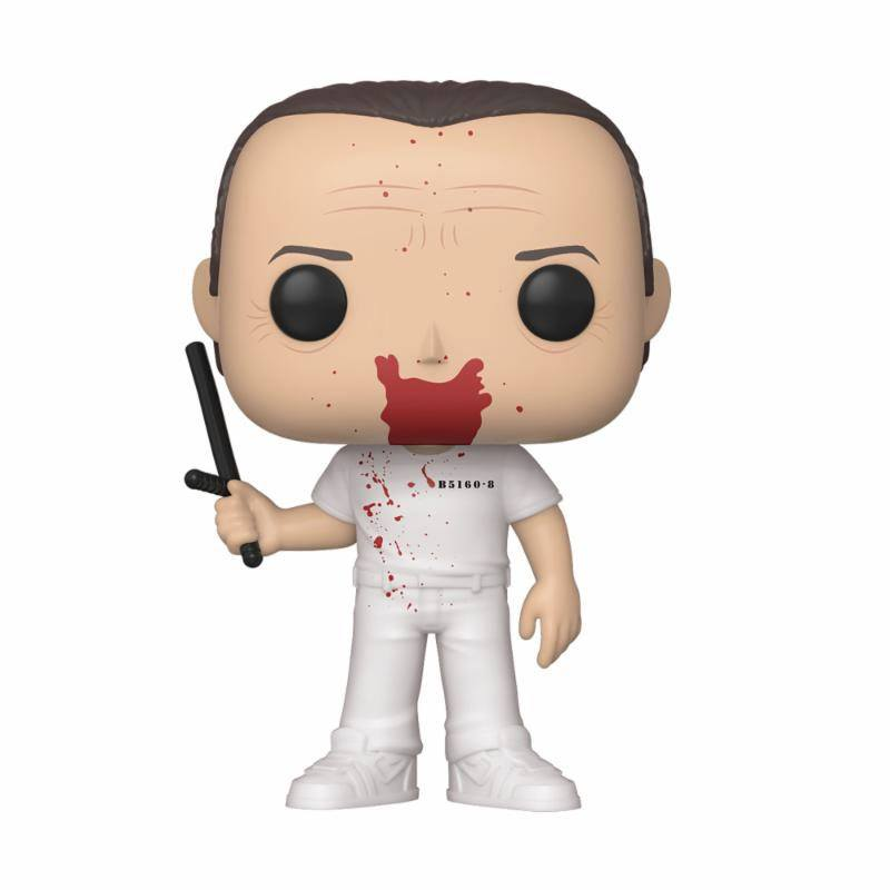 The Silence of the Lambs POP! Movies Vinyl Figure Hannibal BD 10 cm