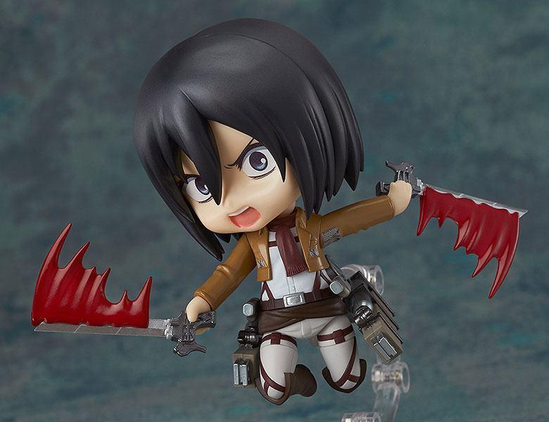 Attack on Titan Nendoroid Action Figure Mikasa Ackerman 10 cm
