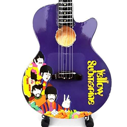 Mini Guitar Replica The Beatles - John Lennon Yellow Submarine 26 cm