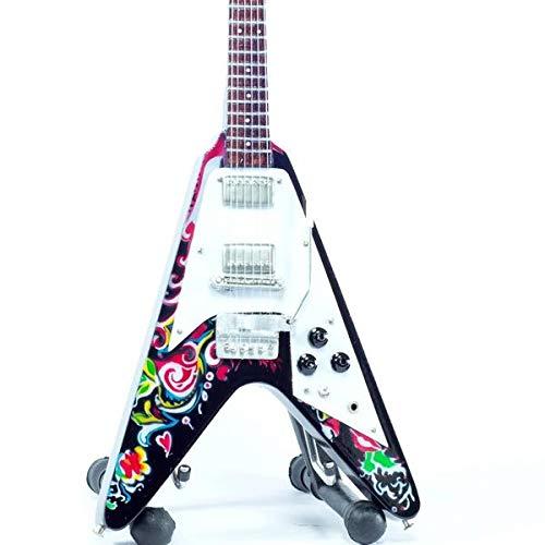 Mini Guitar Replica Jimi Hendrix - Psychedelic 26 cm
