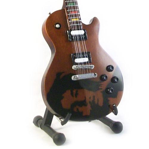 Mini Guitar Replica Bob Marley - Tribute 26 cm
