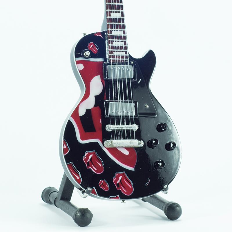 Mini Guitar Replica Rolling Stones - Tribute Tong 26 cm