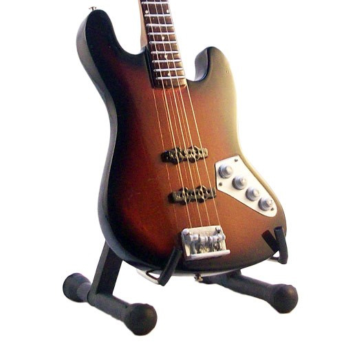 Mini Guitar Replica Jaco Pastorius Relic Bass 26 cm