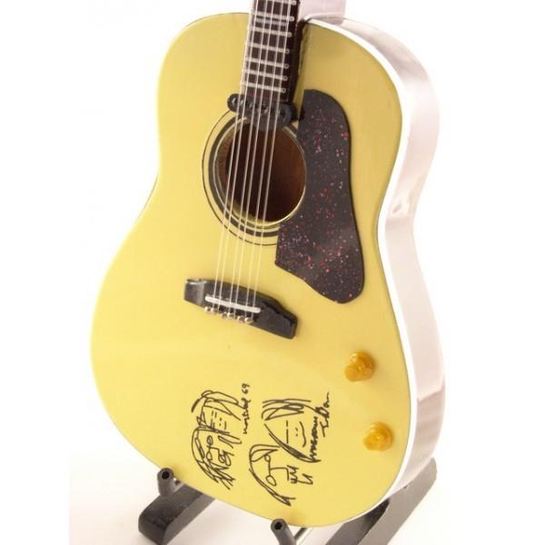 Mini Guitar Replica The Beatles - John Lennon AC.P 26 cm
