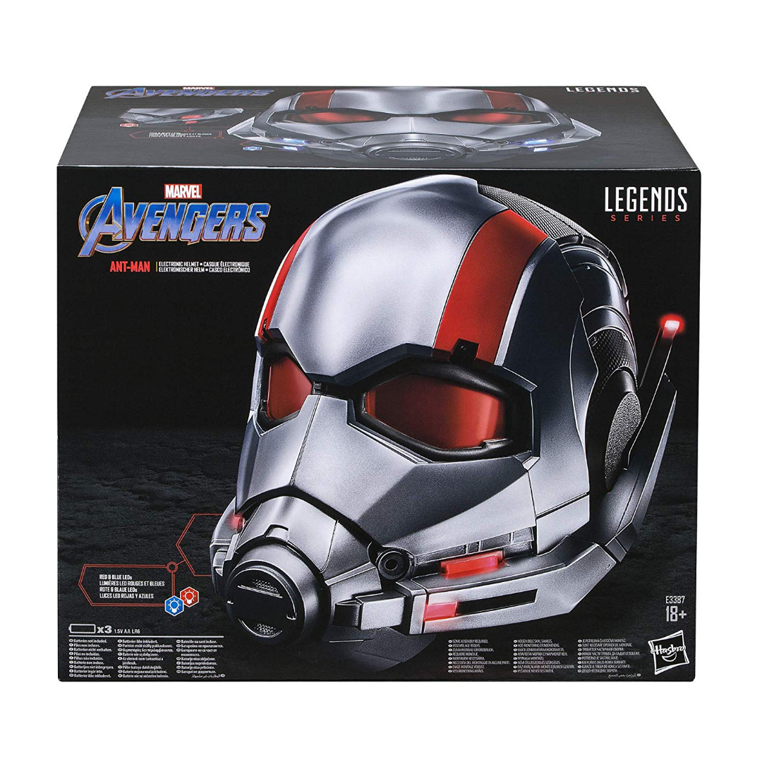 Marvel Legends Series Ant-Man Premium Collector Electronic Helmet with LED