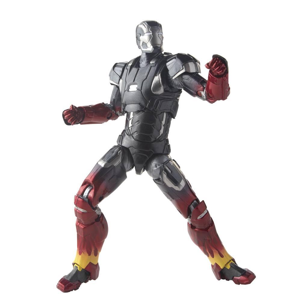 Iron Man 3 Marvel Legends Series AF 3-Pack Pepper, Mark XXII & Mandarin