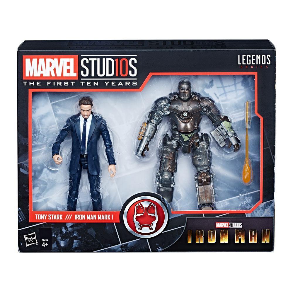 Iron Man Marvel Legends Series AF 2-Pack Tony Stark & Iron Man Mark I 15 cm