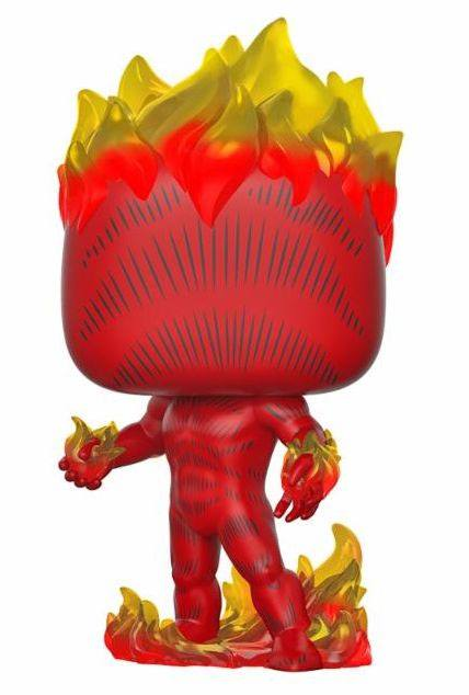 Marvel 80th POP! Heroes Vinyl Figure Human Torch (First Appearance) 10 cm
