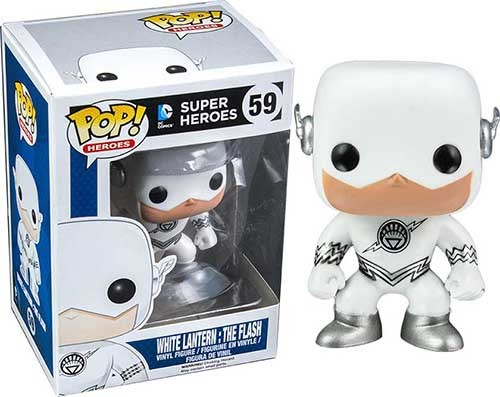 Super Heroes POP! DC Comics White Lantern: The Flash Exclusive Edition