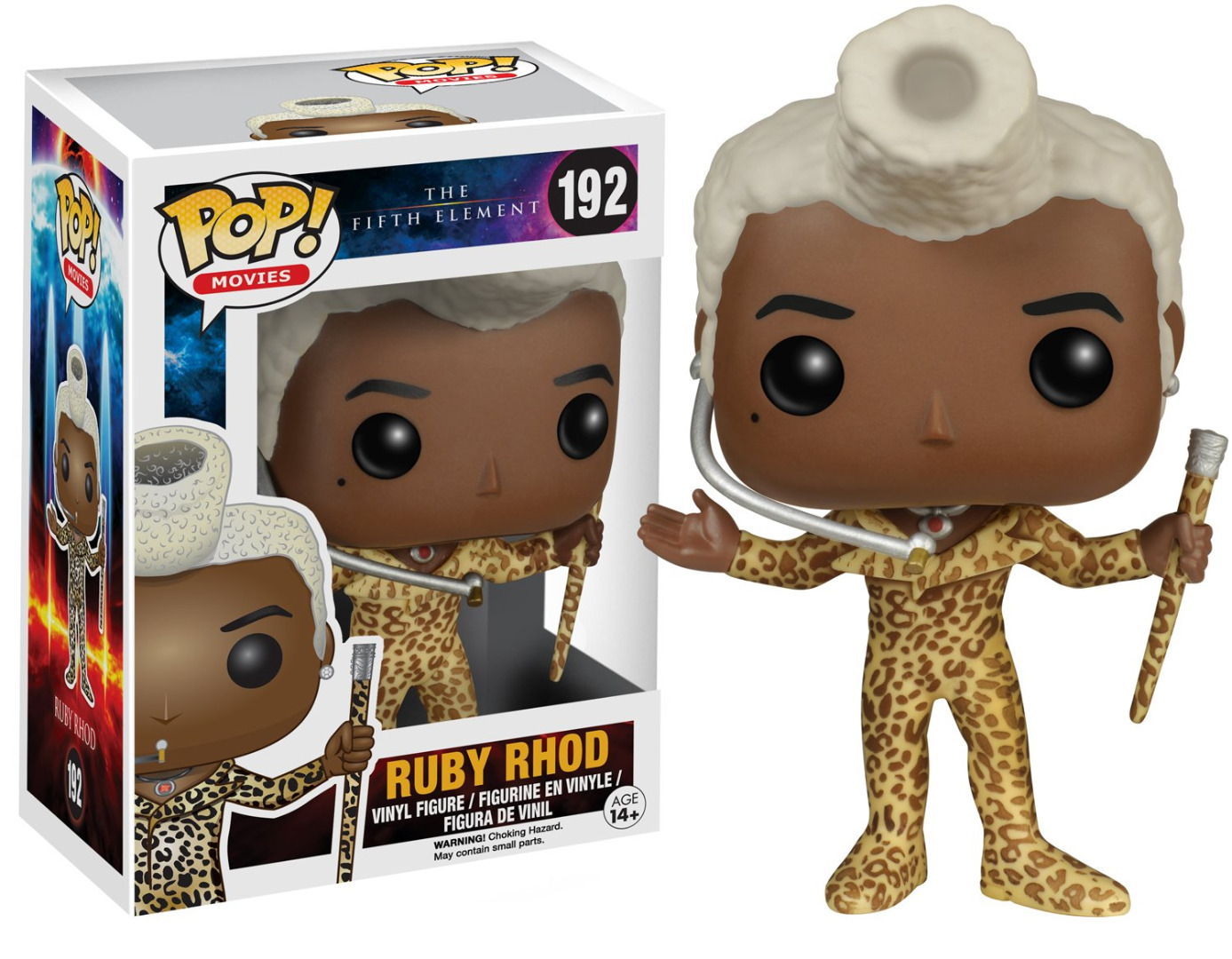 Funko POP! Movies The Fifth Element - Ruby Rhod 10 cm