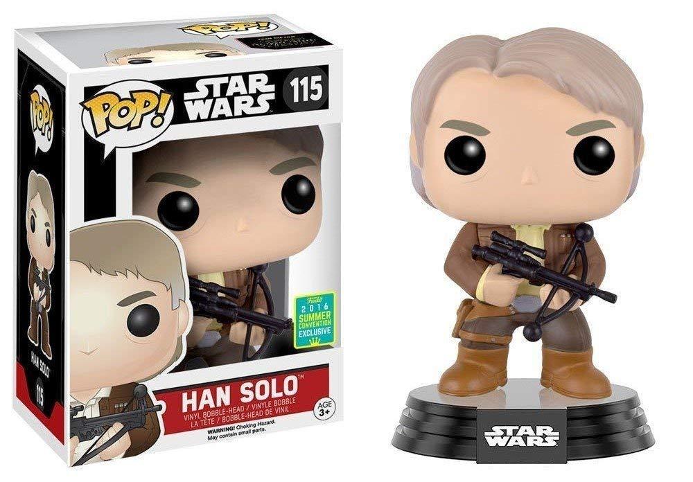 Star Wars POP! Han Solo Summer Convention Exclusive Edition 2016