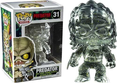 Funko Pop! Movies - Predator Clear Bloody Viny Figure 10 cm