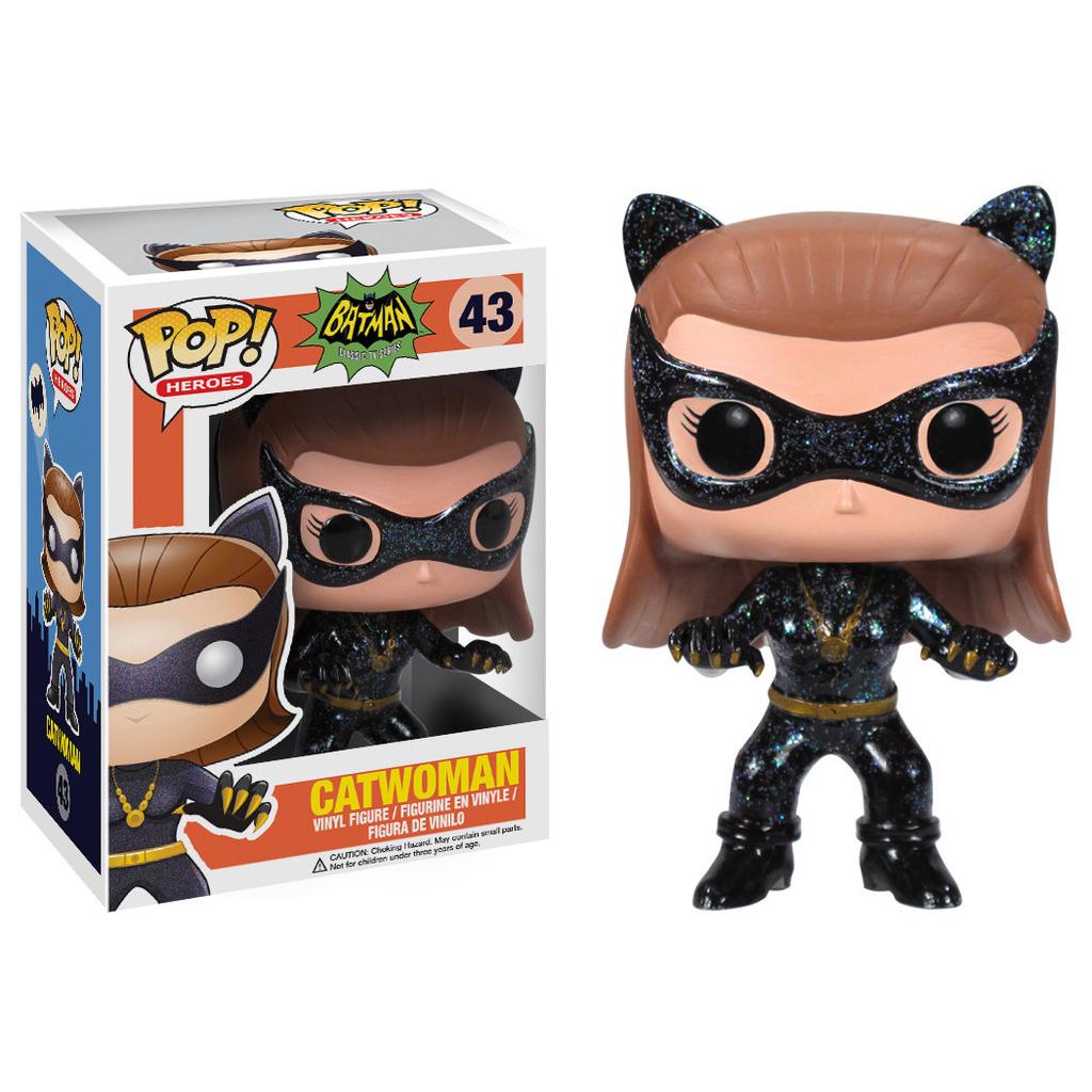 Funko POP! DC Comics - Batman Classic TV Series Catwoman Vinyl Figure 10 cm