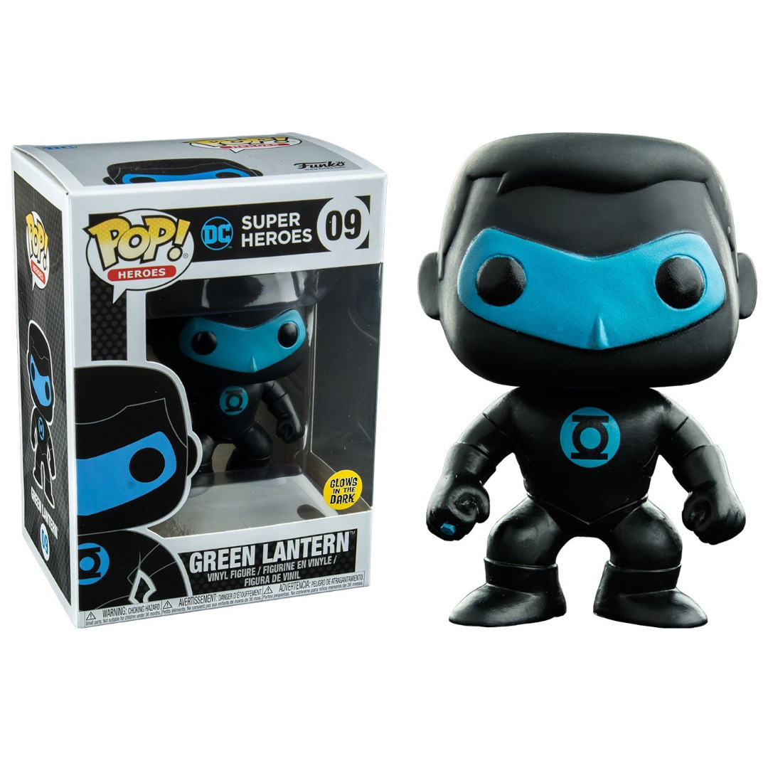 Pop! DC: Justice League Green Lantern Silhouette GLID Limited Edition