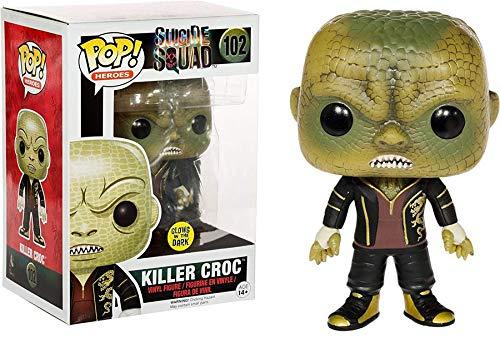 Funko POP! Movies Suicide Squad - Killer Croc Glows in the Dark 10 cm