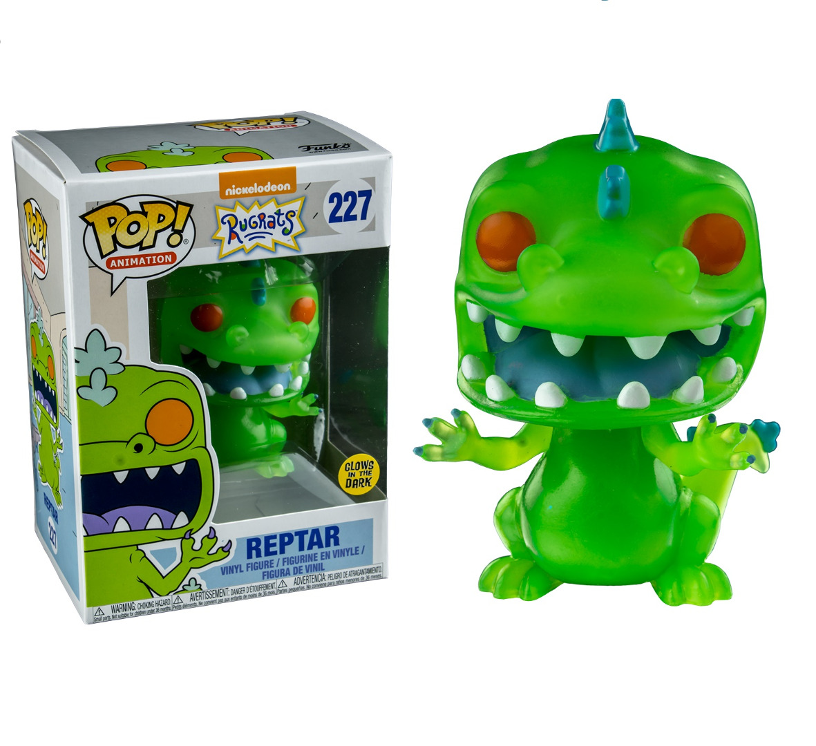 Rugrats POP! Animation Reptar Glows in the Dark Exclusive Edition 10 cm