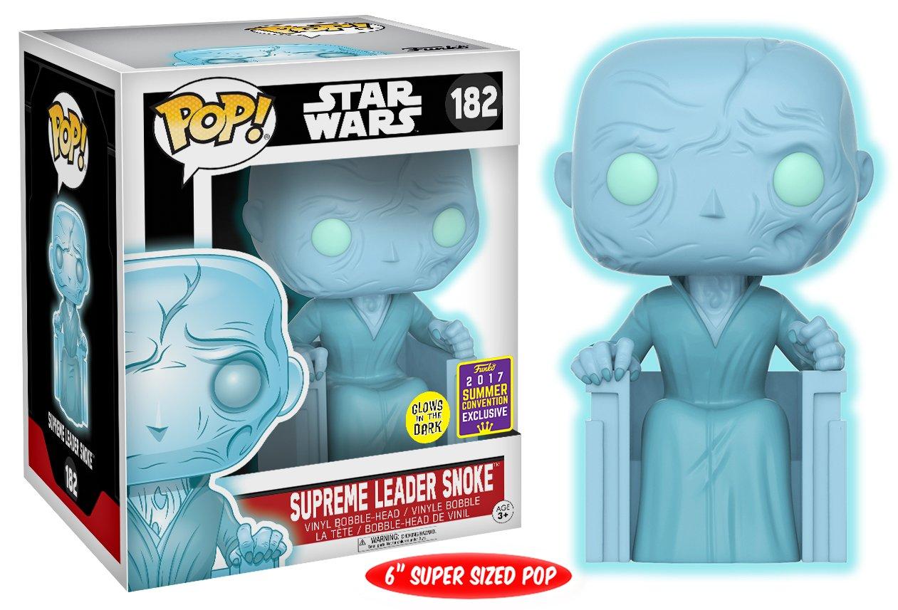 Star Wars POP! Supreme Leader Snoke Glow in the Dark 2017 Summer Convention