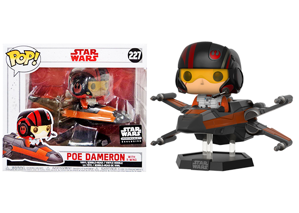 Star Wars POP! Poe Dameron with X-Wing Smugglers Bounty Exclusive Edition